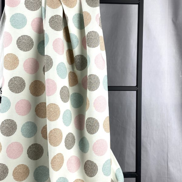 French Terry Pastell Dots