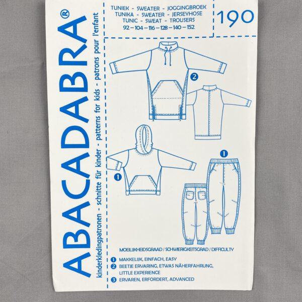 Abrakadabra Schnittmuster Tunika-Sweatie