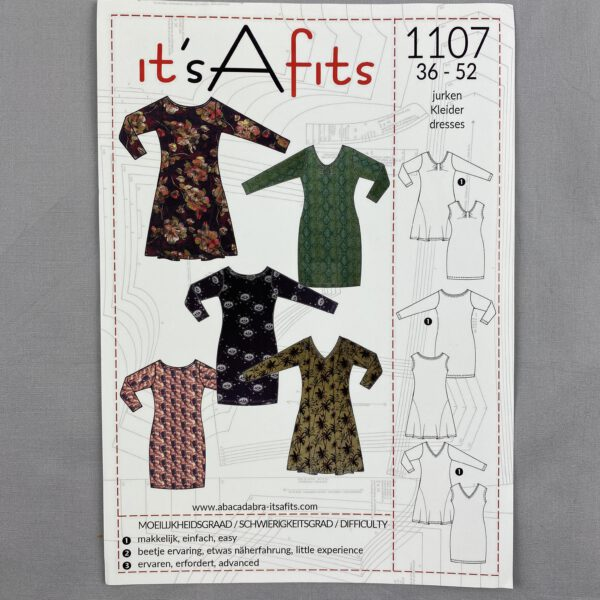 Its a fits Schnittmuster 1107