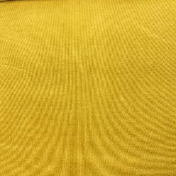 Bio Baumwollcord Gelb