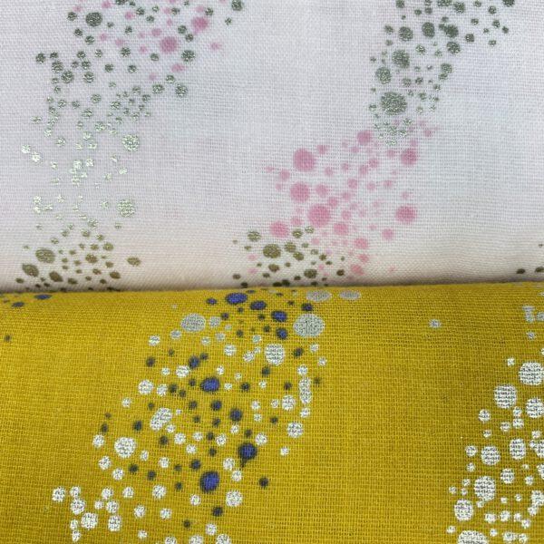Musseline gelb-Blasen hot foil
