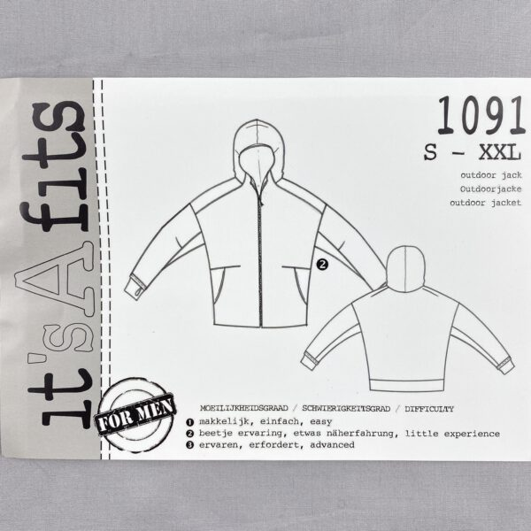 Its a fits Schnittmuster 1091 Jacke Unisex