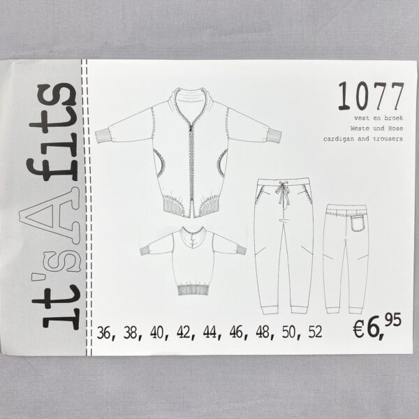 Its a fits Schnittmuster 1077 Jogging Hose -Jacke