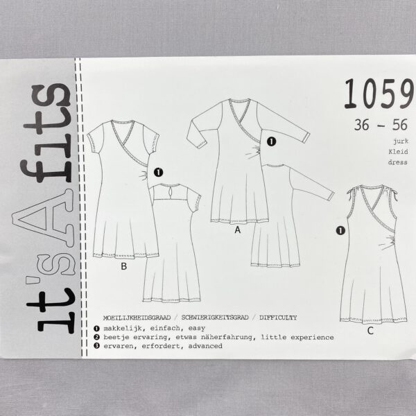 Its a fits Schnittmuster 1059 Kleid