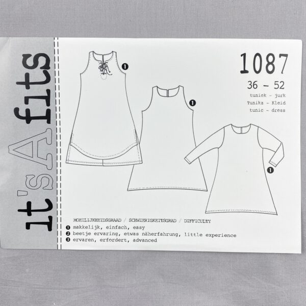 Its a fits Schnittmuster 1087 Kleid