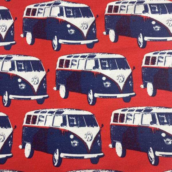 French Terry Retro VW Bus