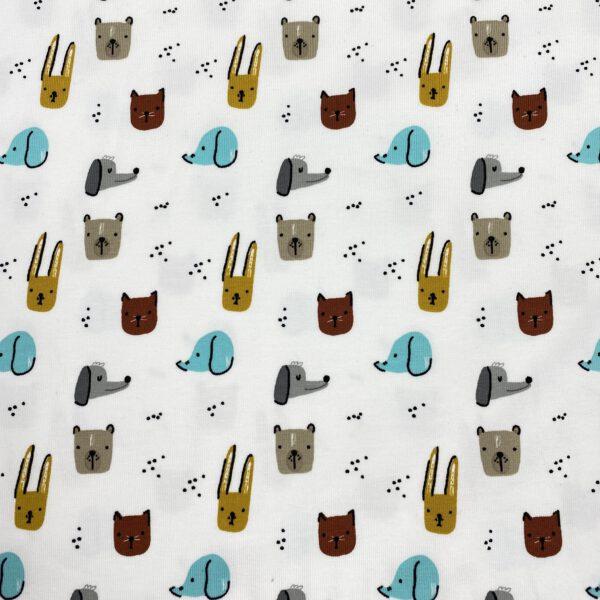 Baumwolljersey Hunde