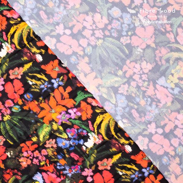 Plissee Multicolor – flower Fibre Mood