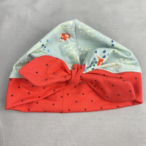 Knotenmütze Rotkäppchen Dots