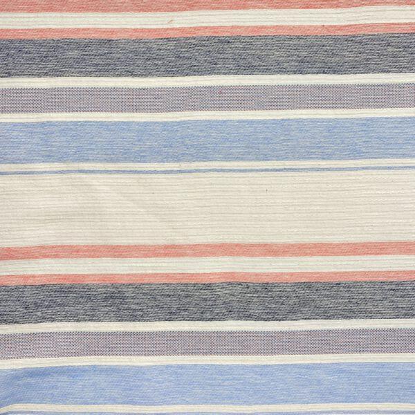 Madras Streifen Jeansblau