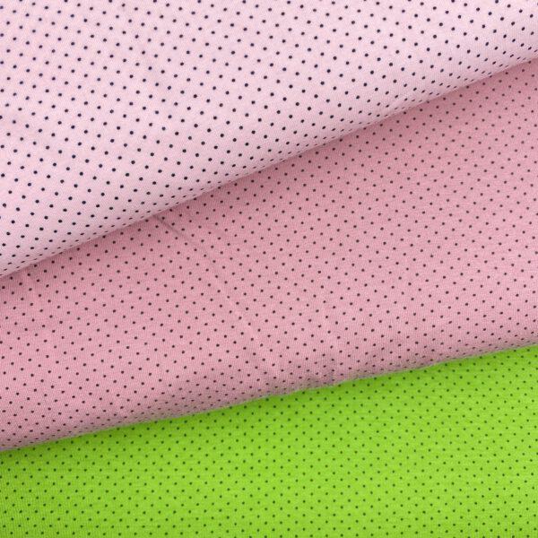 Baumwolljersey Mini Dots
