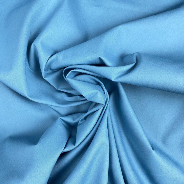 Baumwollpopeline Adriatico blue-Fibre Mood